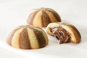 Трехступенчатая пекарная линия: подача, печь и разгрузка для производства печенья
