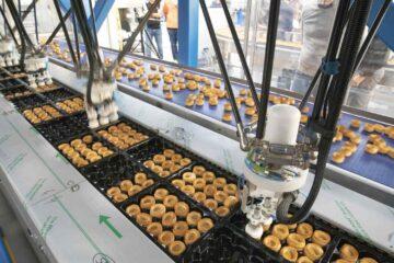 Упаковка vol-au-vent: автоматизация с роботизированной системой