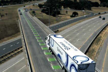 Коммерческая грузовая поездка на самоходном грузовике