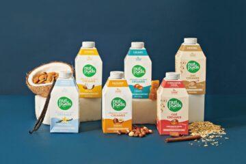Картонная бутылка combidome для молочных продуктов на растительной основе