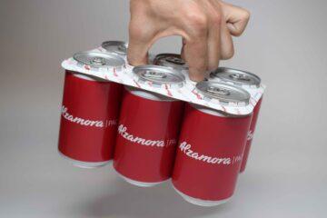 LatCub packaging устойчивое решение для банок, BotCub для бутылок