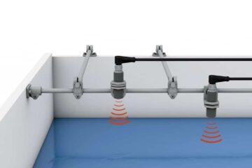 Система крепления датчика Balluff для промывочных работ