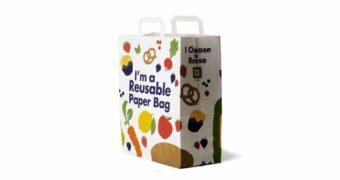 Многоразовый бумажный пакет из пластика в бумагу: секрет прочности