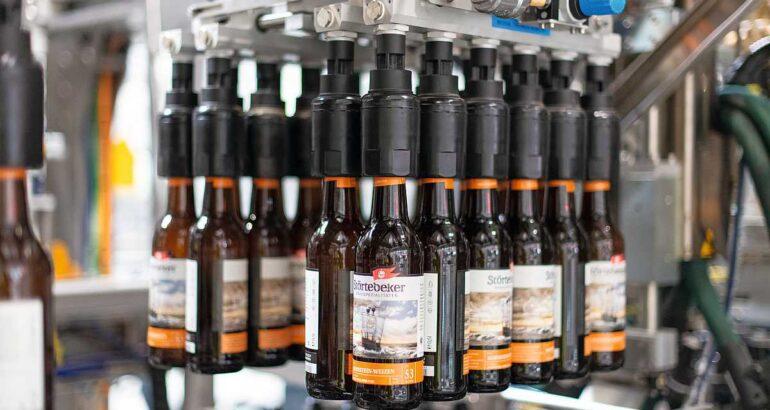 Линия розлива для пивоварни с упаковочной системой Varioline
