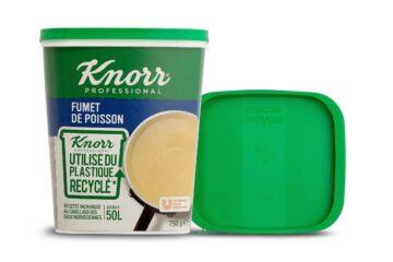 Упаковка бульонного порошка сертифицированная круглая полипропиленовая для контакта с пищевыми продуктами