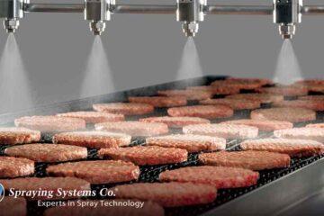 Технология распыления PulsaJet® для продления сроков хранения продуктов от компании Spraying Systems Co.